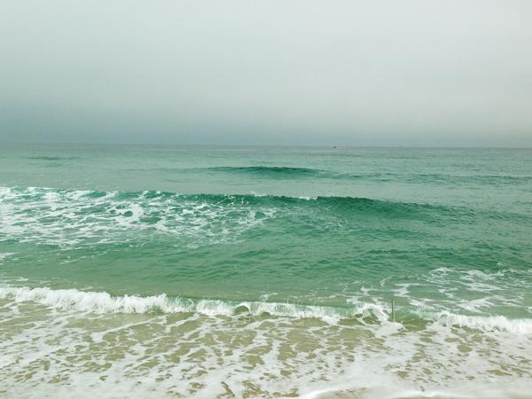 예쁘고 환상적인 에메랄드빛 바다. 이 바다보러 여기까지 온다능~ ^^
