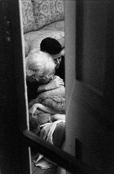 Marilyn Monroe and JFK