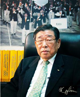 김운용 전 IOC 부위원장 (출처 : http://www.kimunyong.com)